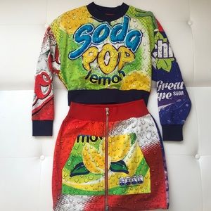 MOSCHINO Couture Skirt Sz 42